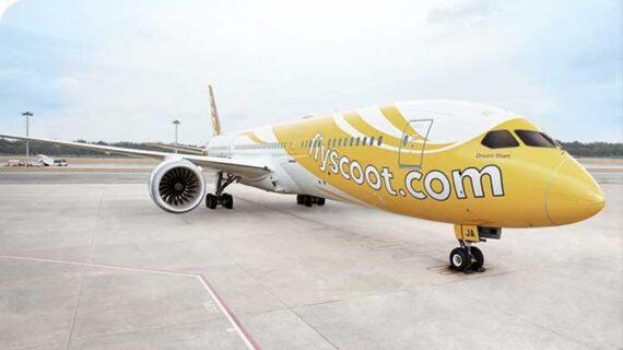 Maskapai Scoot Buka Rute Penerbangan Jogja-Semarang-Singapura